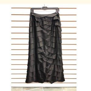 Adrianna Papell black evening skirt 4
